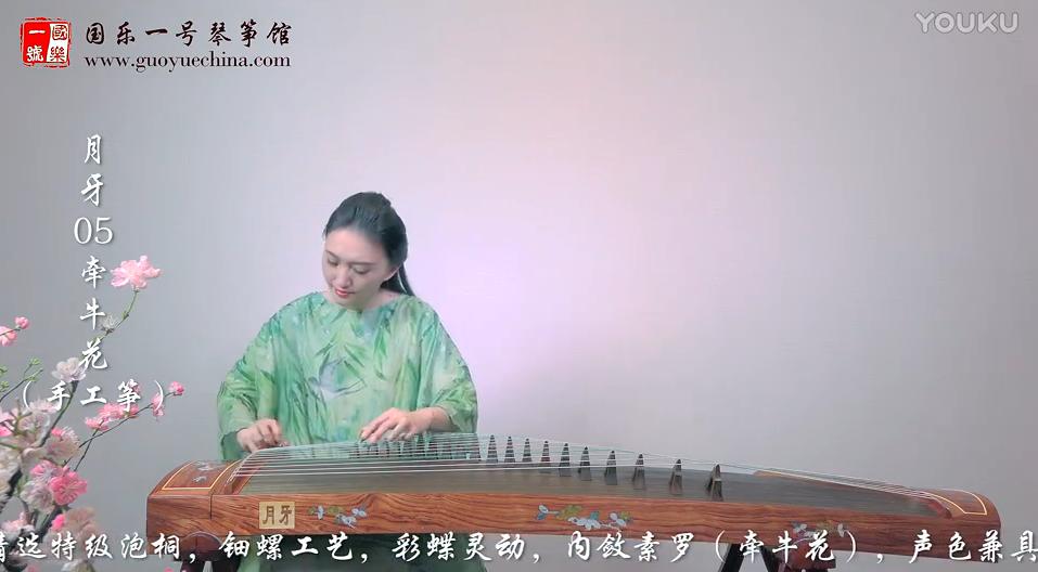 古筝名曲欣赏《女儿情》-中国古筝十大名曲