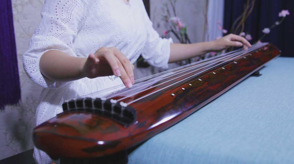 古琴曲欣赏 黄莺吟 古琴练习曲